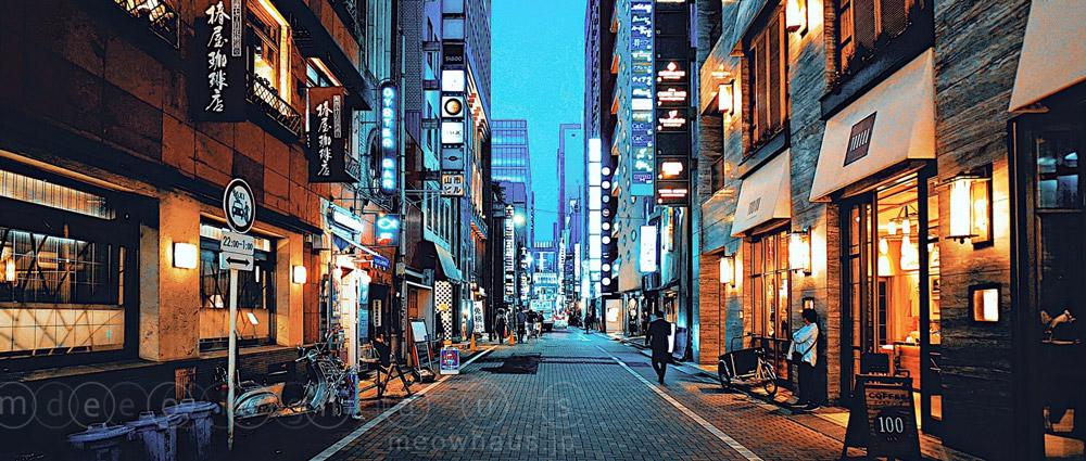 night street - Tokyo