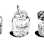 three jam jars