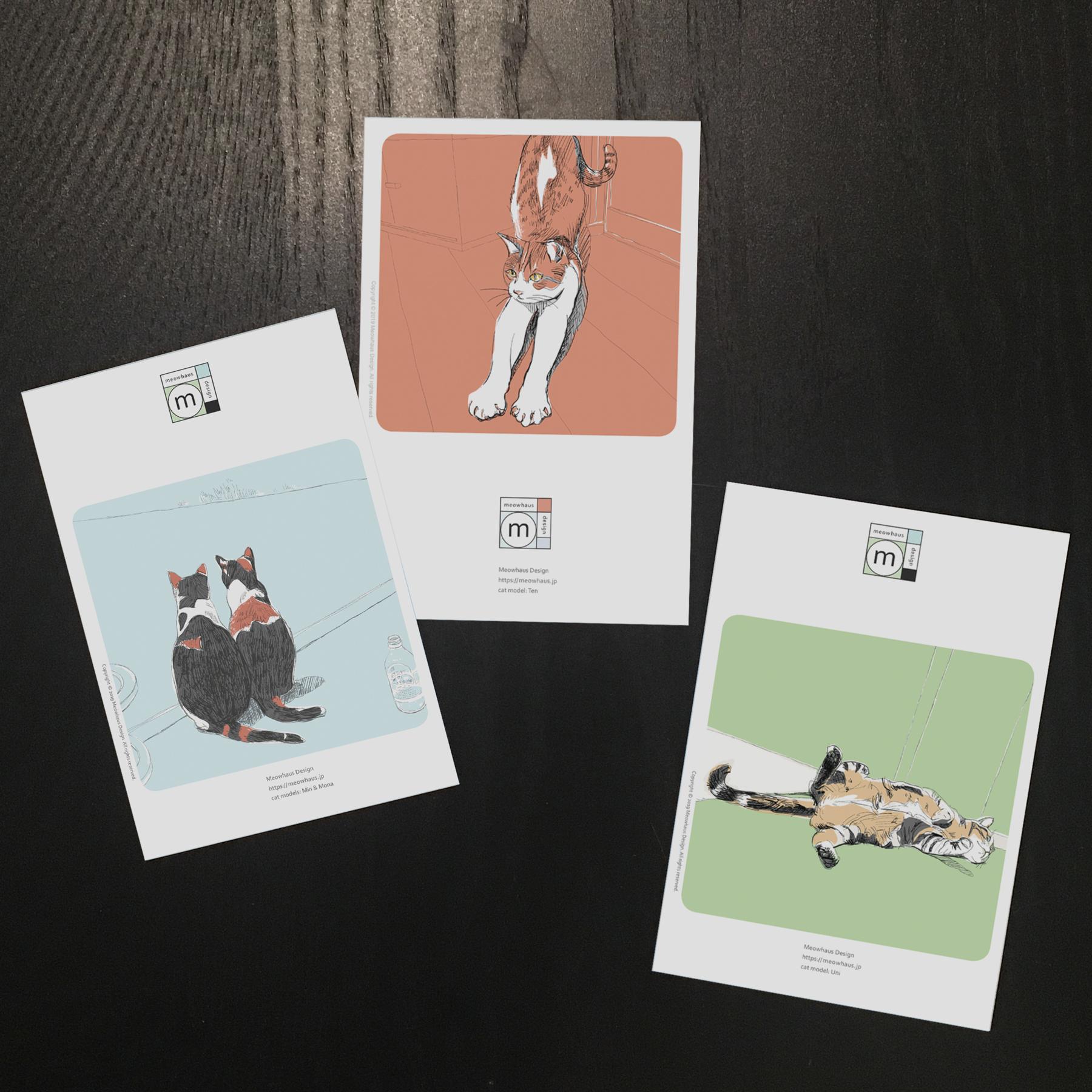 postcard minimyu set3